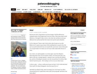 patwoodblogging.wordpress.com screenshot