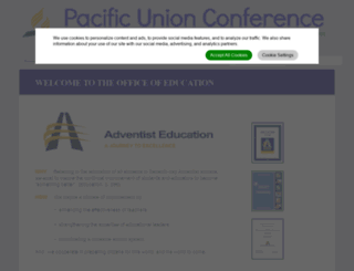 paucedu.adventistfaith.org screenshot
