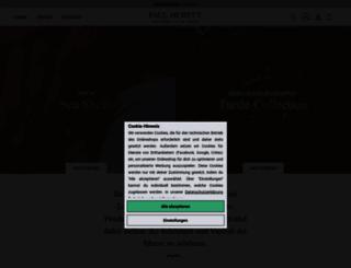 paul-hewitt.com screenshot