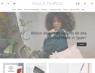 paula-franco.com screenshot