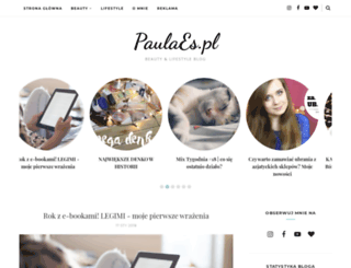 paulaes.pl screenshot