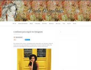 paulamagalhaes.com.br screenshot
