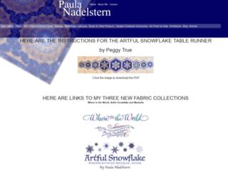 paulanadelstern.com screenshot
