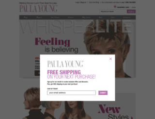 paulayoung.com screenshot