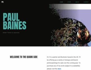 paulbaines.co.uk screenshot
