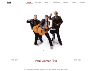 paulcolmantrio.com screenshot