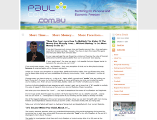paulcounsel.com.au screenshot