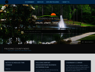 paulding.gov screenshot