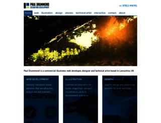 pauldrummond.co.uk screenshot
