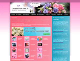 paulenkaren.onzebruiloftsite.nl screenshot