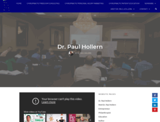 paulhollern.com screenshot