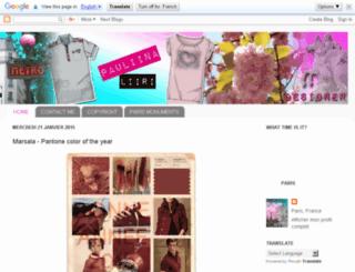 pauliinaliiridesign.blogspot.com screenshot