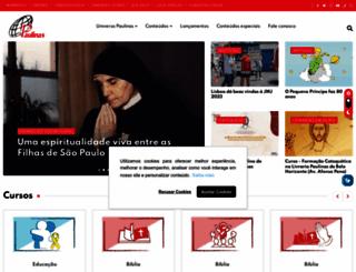 paulinas.org.br screenshot