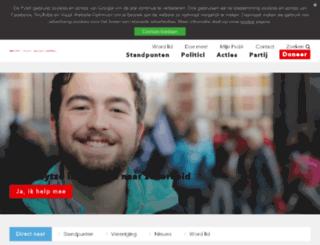 paulinesmeets.pvda.nl screenshot