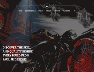 pauljrdesigns.com screenshot