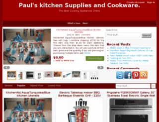 paulkitchensuppliesandcookware.com screenshot