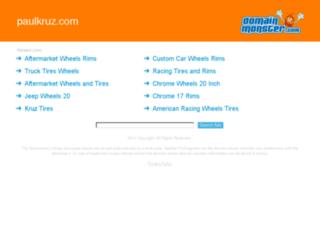 paulkruz.com screenshot