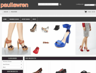 paullawrencevann.com screenshot
