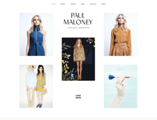 paulmaloney.com.au screenshot