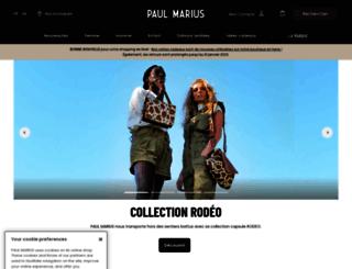 paulmarius.fr screenshot
