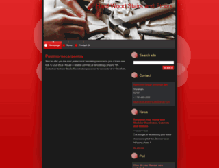 paulmorsecarpentry.webnode.com screenshot