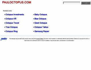 pauloctopus.com screenshot
