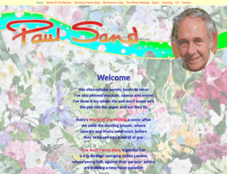 paulsand.com screenshot