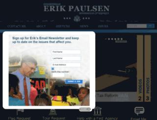 paulsen.house.gov screenshot
