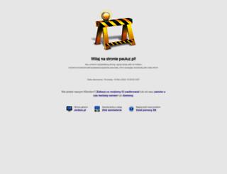 pauluz.pl screenshot