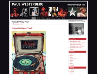 paulwesterberg.com screenshot