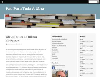 pauparatodaaobra.blogs.sapo.pt screenshot