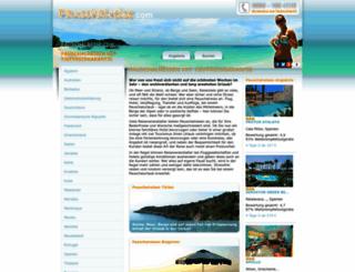 pauschalreise.com screenshot
