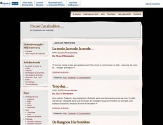 pause-cacahuetes.blogs-de-voyage.fr screenshot