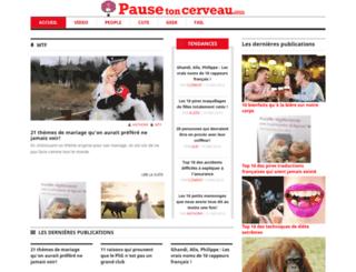 pause-ton-cerveau.com screenshot