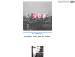 pauseclope.tumblr.com screenshot