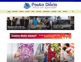 pautadiaria.com.br screenshot