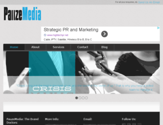 pauzemedia.com screenshot