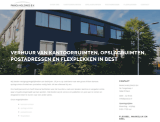 pavaca.nl screenshot