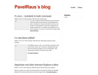pavelraus.wordpress.com screenshot