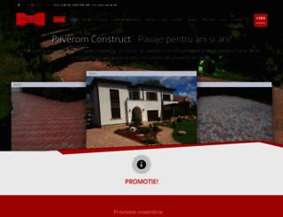 paverom-construct.ro screenshot