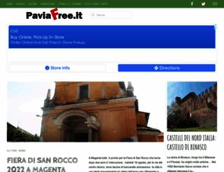 paviafree.it screenshot