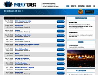 pavilionphoenix.com screenshot