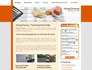 pavingdriveway.co.uk screenshot