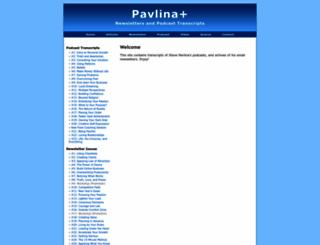 pavlinaplus.com screenshot