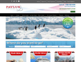 pavlus.com screenshot