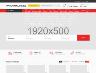 pavononline.es screenshot