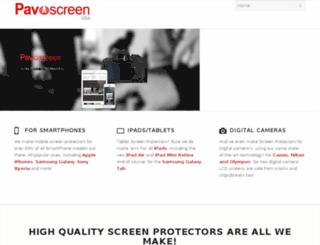 pavoscreen.us screenshot