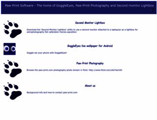 paw-print.com screenshot