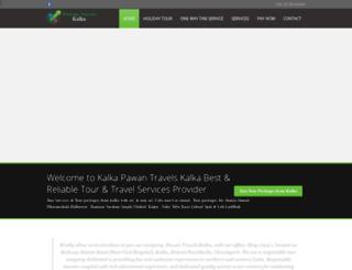 pawantravelskalka.com screenshot
