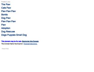 pawbonito.com screenshot